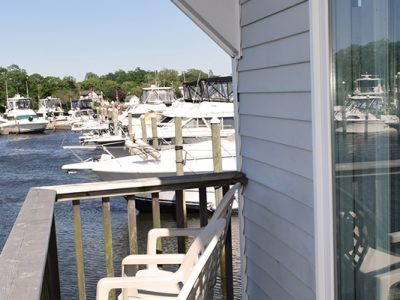 Treasure Cove Resort Marina Houseboat Porch View